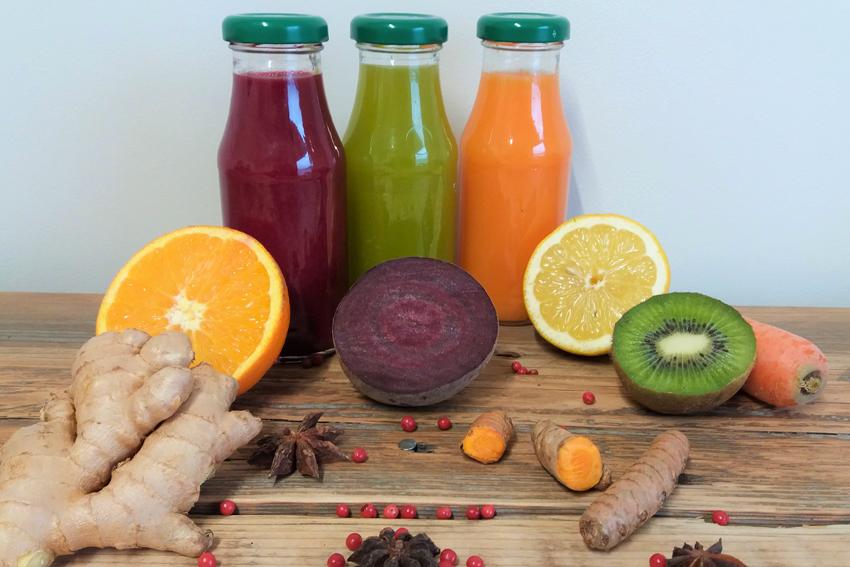 Extraction jus de fruits et légumes frais